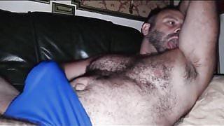 Self pleasuring bear
