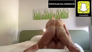 a good intense fuck in the hotel