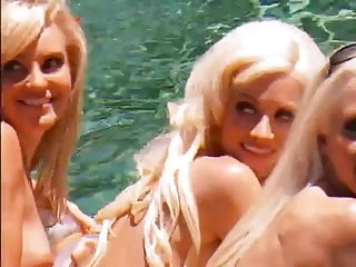Holly willowby naked - Kendra, holly, bridget naked pool shoot