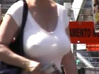 Candid mature oops - Candid mature big boobs