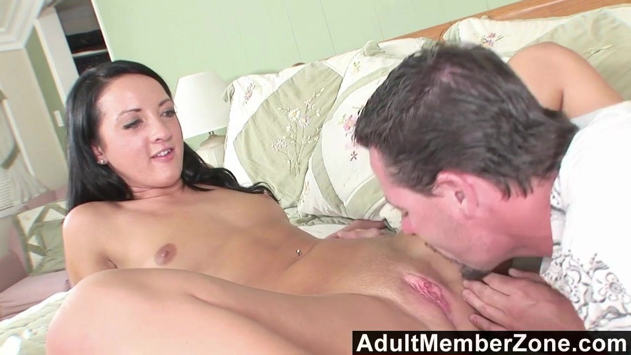 Boy plays with girlfriends pussy