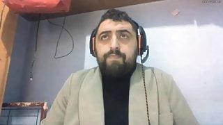 Spanish hunk wanks on webcam