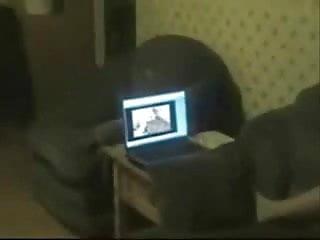 Porno watch Great i spied my sister masturbating watching porno