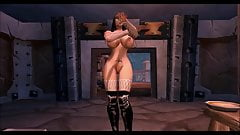 Human Strip-tease Lingerie