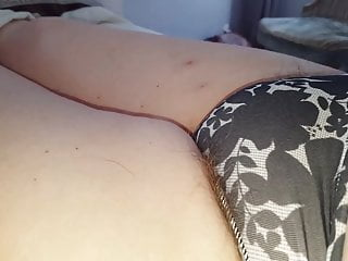 Penis sticking out of pants Pubic hair sticking out of her small pantys