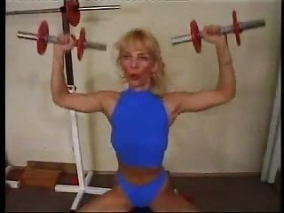 Gay muscle anal The 45yo muscle slut workout