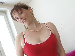 Moms fucking sons videos - 57yo mature mom fucked by her sons friend
