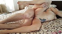 Babe Hard Pussy Fuck Big Cock Husband's Friend