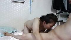 Korean mature couple