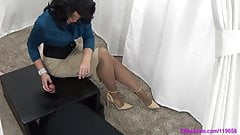 Mature Mistress Gloryhole Handjob Tease And Denial Edging