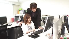 Yumi Maeda fucked at work by the - More at Japanesemamas.com