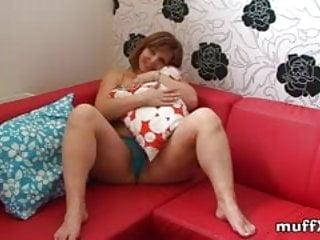 Jeanne marine nude pics - Marie jeanne masturbates on red sofa