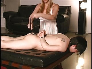 Gay young slaveboys - Blonde mistress and a slaveboy