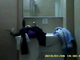 Slut convention dvd - Coworker hidden shower at a hotel convention