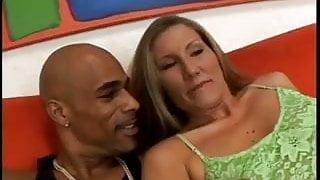 Sexy Milf  Sucks And Fucks A Black Guy