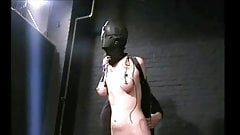 hooded slave tortured and packed