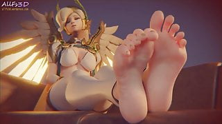 Mercys Foot Fetish