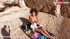 MyDirtyHobby - Luna Corazon blows her friend at the beach