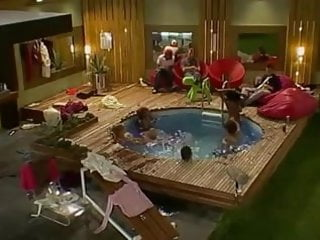 Rory naked on big brother - Big brother naked pool orgy