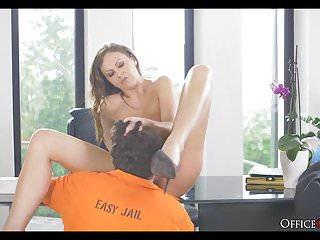 Older babes lingerie Hot female parole officer fucks her assigned inmate upon his