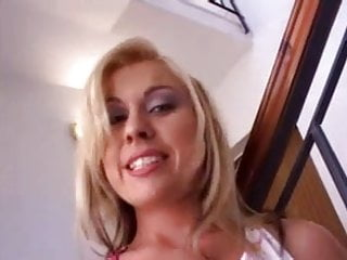 Multiple black cocks - Very sexy blonde enjoys multiple blacks read comment