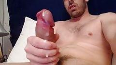 Huge Beautiful cock masturbing