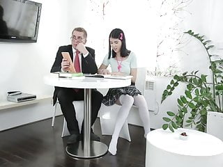 Old cunnilingus Young girl gets horny with her tutor