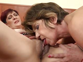 Eurocreme twink double penetration rated Filthy old sluts share their black lovers