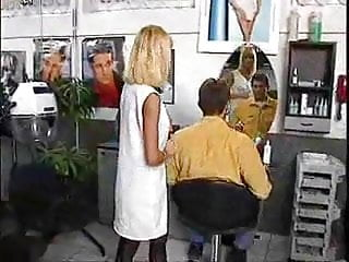 Haircut video stories fetish Hot service after haircut