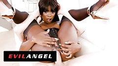 EvilAngel - Black Beauty Ana Foxxx's Tight Ass Fucked