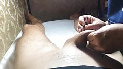 Brazilian Wax Job for Huge Cock Part 3