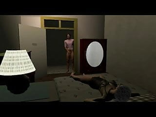 Naked night cartoons Night seductions