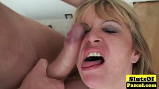 Old british escort dominated over and plowed
