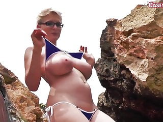 Tgp nude outdoors Casey deluxe - blue bikini dance ... nude version