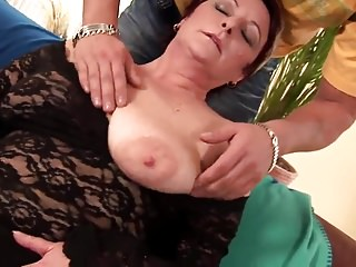 Mature cunt tubes - Mature cunt fucks younger cock