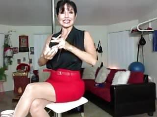 Stripping black porn - Latin porn star milf strips rubs