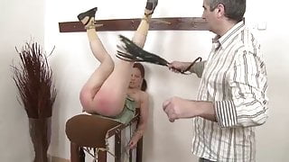 Spanked for being curious