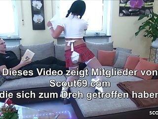 Gay asses in tight uniforms German big ass milf in schoolgirl uniform have amateur sex