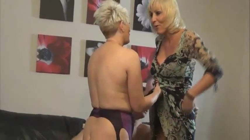 Blonde Mature Anal British
