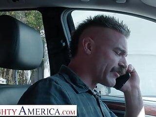 America sucks donkey balls - Naughty america karma rx gets bullied into sucking and fucki