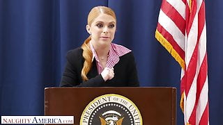 Naughty America - Penny Pax fucks her intern