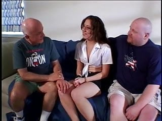 Husband watch wife fuck free stream Husband watch his nerd wife be fucked by 2 guys