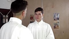 Alter boy gets barebacked by priest