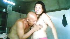 Evelyn Rubite filipino sucking her bf dick