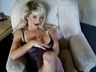 Hot smoking blonde didlo Hot blonde cougar smoking and diddling