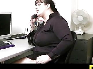 Boss fucks stupid secretary Boss fucks busty office secretary in stockings