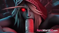 Heroes from Warcraft Gets Fucked in Every Hole - 3D Porn Com