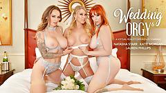 Naughty America - девушки удивляют невесту!