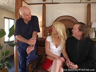 Gay male dads anal fuck Florida blonde wife fucks male pornstar