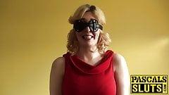 Blonde Jessica Jensen is submissive slut who loves big cocks